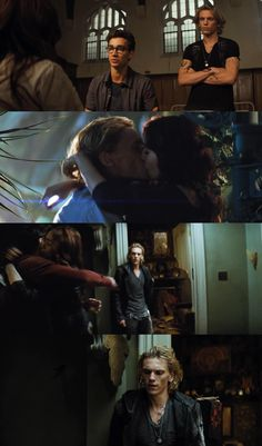 Simon - Clary - Jace xD, TMI City of Bones Kind of obsessed with how Jace like Jamie finally looks in these stills!!