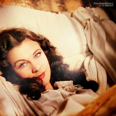 Vivien Leigh as Scarlett O'Hara  Gone with the Wind