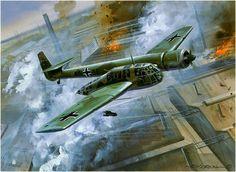 Blohm & Voss BV 141 by Roy Cross
