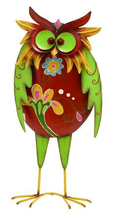 Colorful Silly Owl from Global Imports
