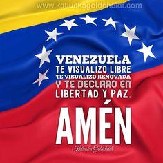 Acompañame a rezar esta Oración por mi Venezuela ️: Vivo en un universo seguro, abundante, agradable, por eso en este acto pido a Dios Todopoderoso, Omnipresente, Omnipotente, paz, paz, paz, paz, paz, paz, y más paz para toda Venezuela, bendice con tu luz a cada Venezolano…sigue LEYENDO haciendo CLIC en la FOTO dí: Amén que así sea. Sígueme en INSTAGRAM https://www.instagram.com/katiuskagold/