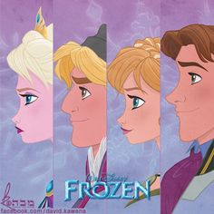 Disney's FROZEN by David Kawena by davidkawena.deviantart.com on @deviantART
