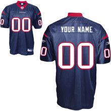 Houston Texans Custom Jerseys Professional Custom jerseys store. personalized NFL jerseys for you, Normal turnaround is two weeks from logo approval. Rush delivery available at higher rates