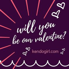 Who is your Kendo crush? Spoil them with our valentines sale @ kendogirl.com 💕😘😍❤️