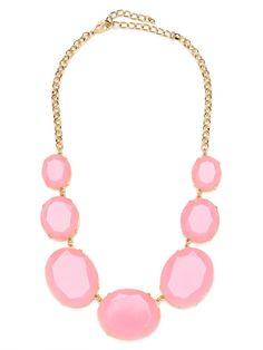 Pink Bubble Gum Polka Strand via BaubleBar