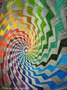 Turbilhão (rainbow quilt life)