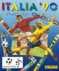 Álbumes Mundial Italia 1990