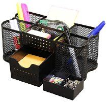 DecoBros Desk Supplies Organizer Caddy From Deco Brothers Price:$9.87 & eligible for FREE Shipping on orders over $35. Details