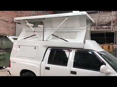 Camper Campingcar Maxxum - YouTube Small Truck Camper, Pickup Camper, Kombi Motorhome, Campervan, Defender 130, Trailer Tent, Off Road Camper, Roof Top Tent, Truck Camping