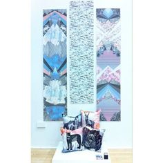 Pippa Lynott Nottingham Trent Degree Show Textile Design Textiles, Textile Patterns, Textile Design, Exhibition Ideas, Nottingham, Display Ideas, Photo Shoot, University, Illustration