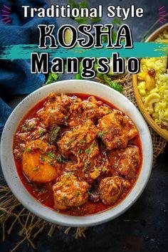 Veg Recipes, Curry Recipes, Cooking Recipes, Easy Recipes, Easy Indian Recipes, Asian Recipes, Ethnic Recipes, Kasha Recipe, Bangladeshi Food