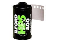 Ilford HP5 Plus, Black and White Print Film, 135 (35 mm), ISO 400, 24 Exposures (1700646) by Ilford. $3.99. HP5 PLUS is a high speed, medium contrast film making it especially suitable for action and press photography and also an excellent choice for general purpose photography. Nominally rated at ISO 400, it yields negatives of outstanding sharpness and fine grain under all lighting conditions. HP5 PLUS has been formulated to respond well to push processing and film speeds up...