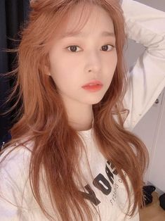 Kpop Girl Groups, Kpop Girls, Korean Girl Band, Eyes On Me, Yu Jin, Japanese Girl Group, Dye My Hair, Kim Min, Girl Bands