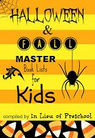 Halloween & Fall Master Book Lists for Kids