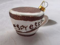 New Midwest CBK Espyesso Coffee Cup Christmas Ornament