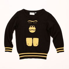 Mini Rodini Gorilla Sweater