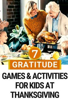 7 Thanksgiving games and activities about gratitude! Teach kids about gratitude this Thanksgiving with these games and activities! 7 ideas for games, crafts, and fun family activities this Thanksgiving that will help teach your kids about gratitude and the meaning of the Thanksgiving holiday. #Thanksgiving #gratitude #parenting #kids #gratitudegames #Thanksgivingactivities Thanksgiving Activities, Thanksgiving Holiday, Family Activities, Thanksgiving Meaning, Mom Advice, Activity Games, Family Kids, Baby Feeding, Kids And Parenting