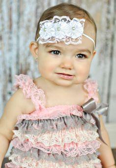 baby headband newborn headband girls by JazzyJewelsbowtique, $7.00