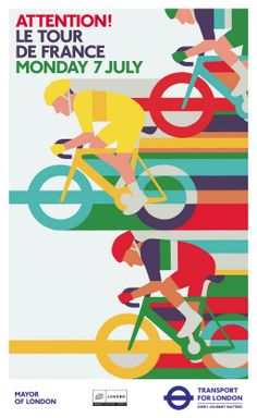 Transport for London cycling poster