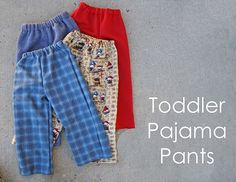 Toddler pajama pants