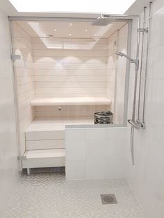 lasiseinä sauna - Google-haku Alcove, Bathtub, Bathroom, Google, Closet, Home Decor, Standing Bath, Bath Room, Homemade Home Decor
