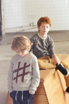 Gro Company AW15 Children's Fashion, Danish Design. Hashtag cool boys clothing!
