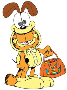 Halloween Cartoons | Halloween Garfield Cartoon Character Clipart Picture Image - I-Love ...