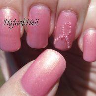 Glitter pink ribbon nail | Nails | Pinterest | Pink ribbons and ...