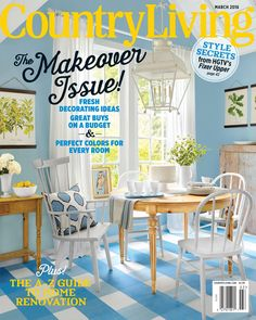 Don't miss this amazing magazine subscription deal for Country Living. Country Living has everything you need to add a personal touch to your living space. Outdoor Furniture Sets, Decor, Home, Home Renovation, Colorful Decor, Country Living Magazine, Interior Design Magazine, Renovations, Good Housekeeping