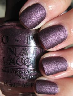 OPI Lincoln Park After Dark OPI Suede Collection Fall 2009