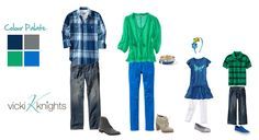 what to wear in family photos | What to wear for your spring family photo shoot - Vicki Knights ...