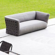 Hochwertig Varaschin Obi Lounge Sofa   Grey