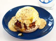 Crab Cake Eggs Benedict with Old Bay Hollandaise