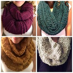 It's officially fall, and that calls for a scarf sale!  So many pretty colors to choose from. Get 20% off your next order with code: FALL20