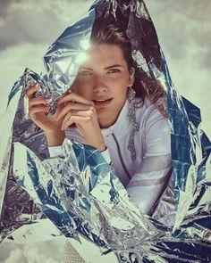 Salt Magazine Featuring Nadya Kurgan by Andreas Ortner Snow Fashion, Fashion Shoot, Editorial Fashion, Fashion Trends, Street Fashion, Snow Outfit, Wilhelmina Models, Fashion Photography Inspiration, Portrait Photography