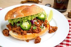 Texmex Sloppy Joes - A total Brent meal, I'll have to whip this up sometime when I need a get out of jail free card ;)