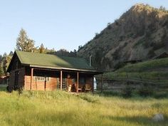 Gardiner Cabin Rental: Lazym Mountain Cabin- A Getaway From The Crowds Of Yellowstone | HomeAway  $150.