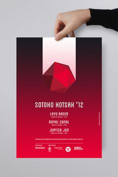 Sotoko Hotsak '12 by La caja de tipos , via Behance