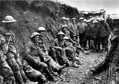 Trincheras, primera Guerra mundia