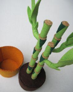 Felt Plant Lucky Bamboo