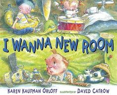 Another great book that is wonderful to teach persuasive writing to elementary students! Using the same format as I Wanna Iguana, Orloff uses the idea of a room for himself after little brother has moved in. Dad comes up with the perfect solution! The illustrations add to the story plus make the reader want to spend time checking out all of the details!