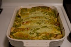 enchiladas suizas  | Full recipe at The Answer is Always Pork