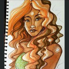 @elly_vittoria their awesome art illustration done using the Chameleon Pens