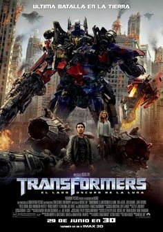 Armas y Cine: Transformers: el lado oscuro de la luna