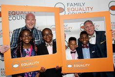 The family with gay dads featured in American Girl magazine (drawing the ire of One Million Moms) is recognized at Family Equality Council's Impact Awards. American Girl Magazine, Adoption Stories, Foster Care, One In A Million, Equality, The Fosters, Pop Culture, Foster Kids, Awards