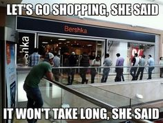 Funny Meme about Shopping