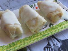 Greckie smaki: Lachanodolmades z kremem cytrynowym