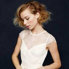 20 Short Hairstyles for Brides | http://www.short-haircut.com/20-short-hairstyles-for-brides.html