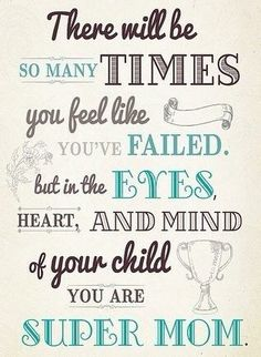 This is one if the truest statements you will ever hear. Nosy tee what you are always a mom!