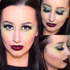Wicked Witch Halloween Makeup Tutorial  | Ashley Elizabeth